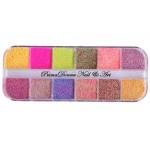 Renkli Şeker Glitter Seti
