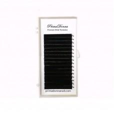 PrimaDonna ipek kirpik siyah D 0.07 - 14mm