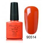 Jel kalıcı oje PrimaDonna No 90514 Electric Orange